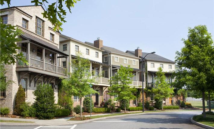 Glenwood Park Atlanta GA 28 Acre Mixed Use Master Planned Community Land Development Townhouse Condominium And Retail